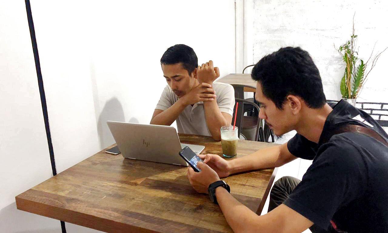 Reaksi Coworking Space Bogor - Outdoor Space