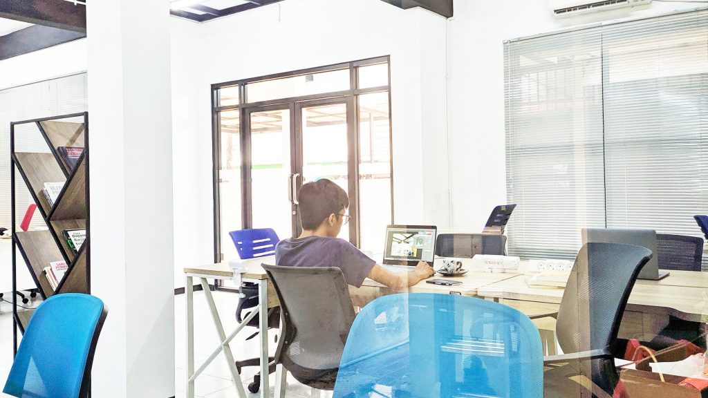 Reaksi - Coworking Space di Bogor